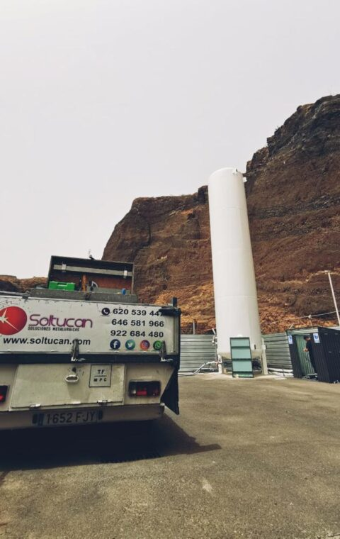 Instalación de depósito de CO2